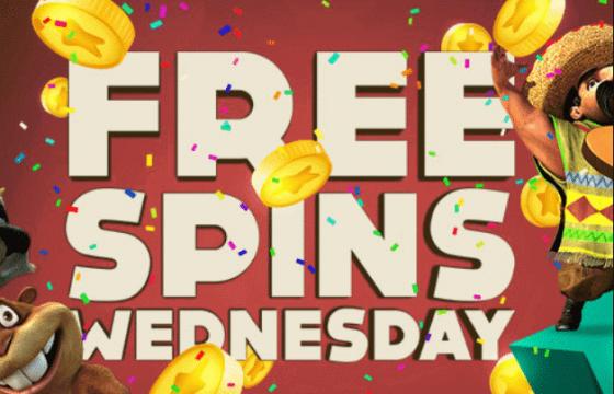 Free spins wednesday on Bitstarz