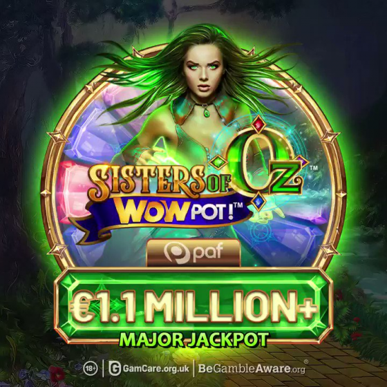 Microgaming WowPot jackpot has been hit for €1.1 million