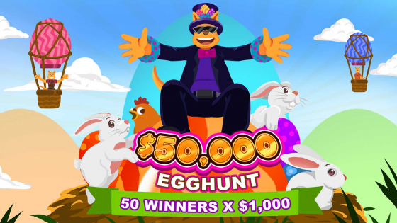 Easter Roo's on the loose with $50,000
