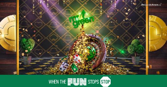 Mr Green's Live Casino Jackpot drops every single day!