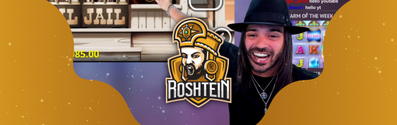 Roshtein has done it again. 1 000 000$ on Book Of Shadow slots